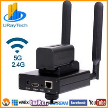 HEVC H.265 MPEG-4 H.264 HD беспроводной WiFi HDMI IP энкодер для IPTV, прямая трансляция, HDMI видео запись RTMP RTMPS сервер