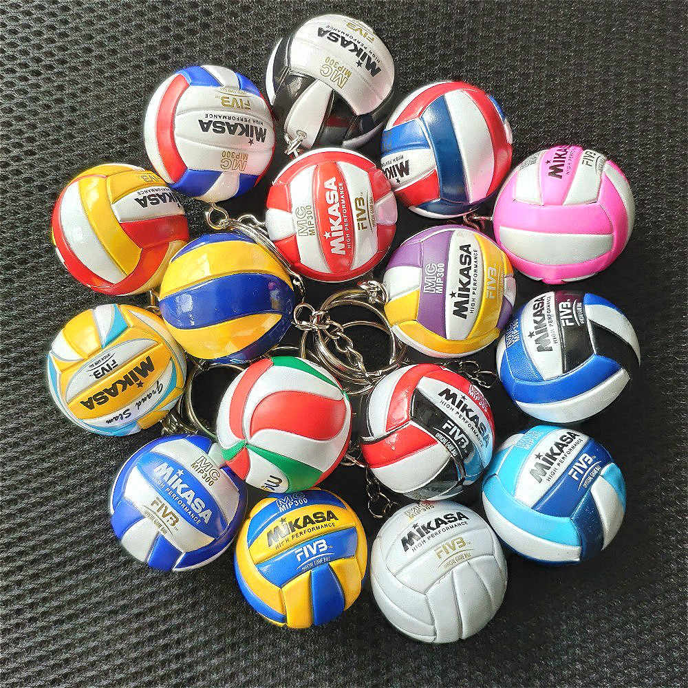 Mini Pvc Volleyball Keychain Ball Toy Sport Key Chain Gift Car Ball Key Holder Ring For Players Men Women Keyring Birthday Gift Aliexpress