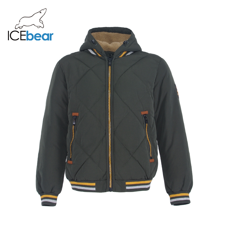 ICEbear 2019 New Winter Men's Jacket High Quality Man Coat Windproof Warm Male Clothing MWD19857I