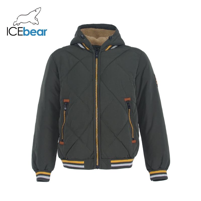 ICEbear 2019 New Winter Men's Jacket High Quality Man Coat Windproof Warm Male Clothing MWD19857I