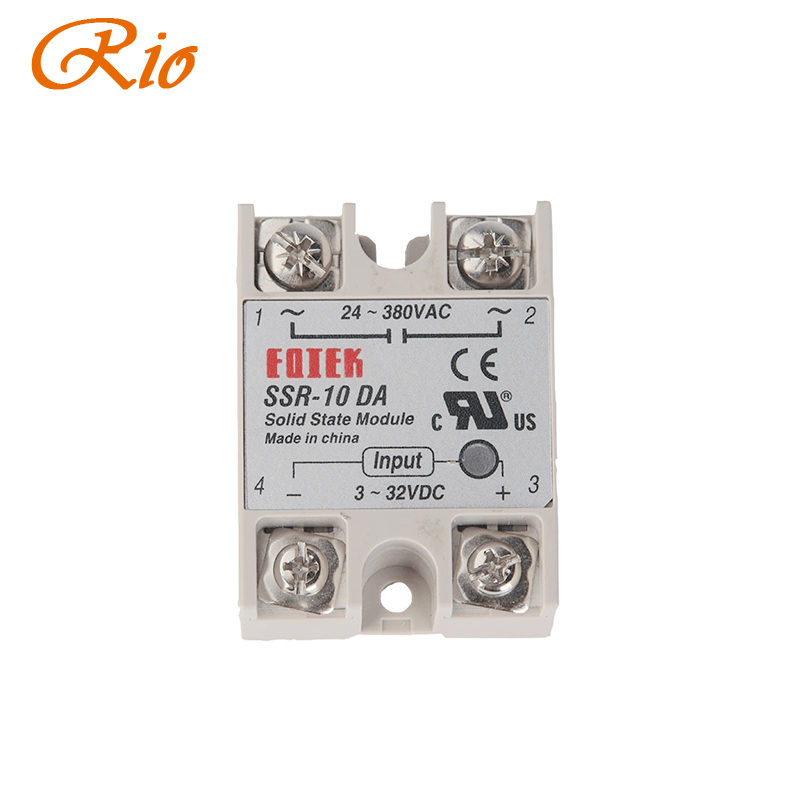 Solid State Relay SSR-40AA 40A AC Relais 80-250V TO 24-380VAC AC SSR BH
