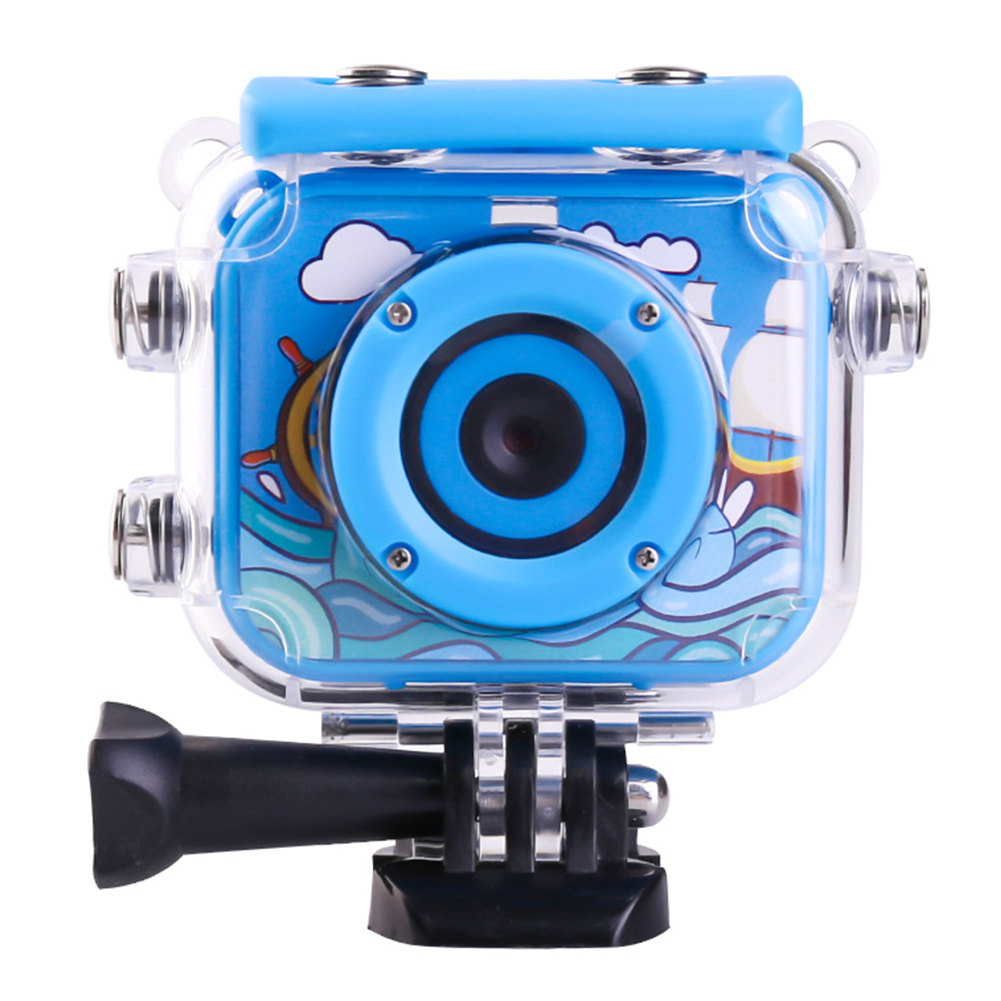 Digital HD 1080P Toys Camera 2 Inch Screen Anti Fall Children Mini ABS Recoder Video Camcorder USB Rechargeable Waterproof Gift image