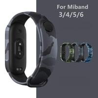 Bracciale per Xiaomi Mi Band 6 5 cinturino in Silicone morbido cinturino sportivo impermeabile per Xiami Miband 3 4 cinturini band5 band6 cintura