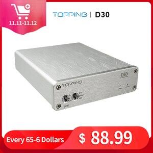 Image 1 - TOPPING D30 HIFI DSD DAC Amp Decoder CS4398 XMOS USB DAC Audio Decoder Coaxial Optical Fiber 24Bit/192KHz