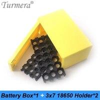 Caixa de armazenamento da bateria recarregável do lítio de turmera com suporte 3x7 para fonte de alimentação ininterrupta de 12 v 24 v e uso da bateria da e-bicicleta