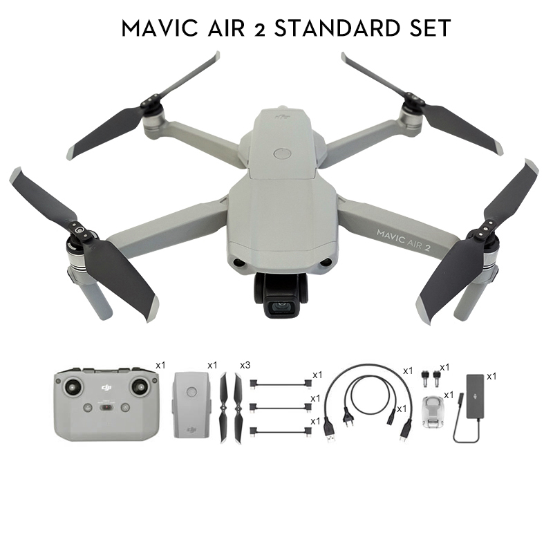 DJI Mavic Air 2 /Mavic Air 2 fly more combo drone with 4k camera 34-min Flight Time 10km 1080p Video Transmission Newest