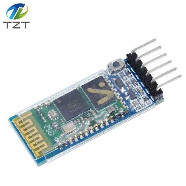 10 Uds. HC05 JY MCU anti reverso, módulo de paso serie Bluetooth integrado, HC 05 master slave 6pin