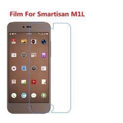 1/2/5/10 pces ultra fino claro hd lcd filme protetor de tela com pano de limpeza filme para smartisan m1l