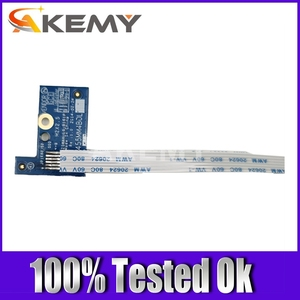 Akemy Original para ACER ASPIRE E5-521 E5-571 E5-511 V3-572G V3-572 Botón de alimentación con Cable Z5WAH LS-B161P 100% probado Ok