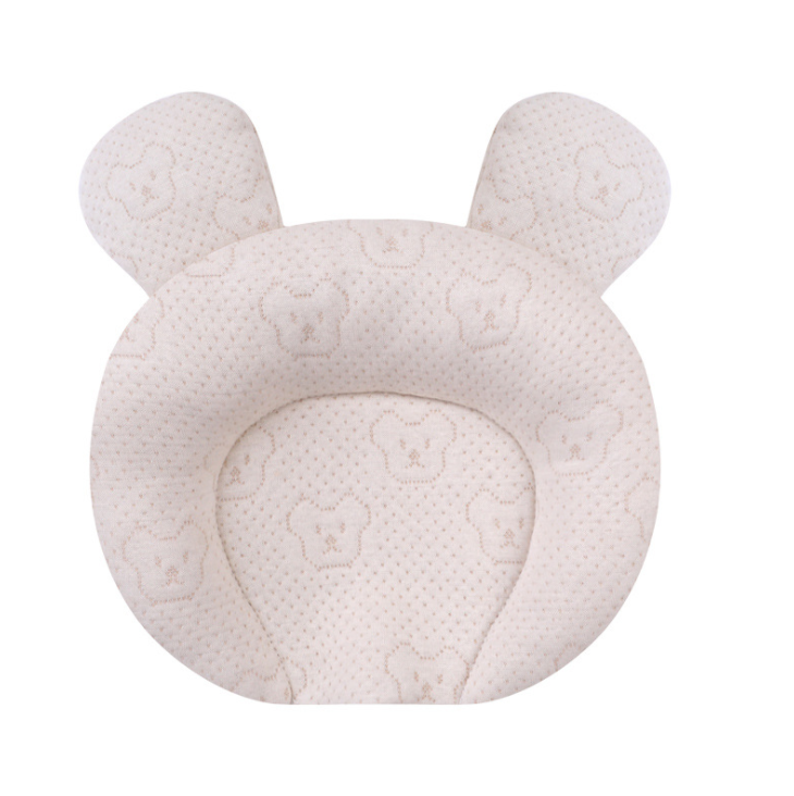 Baby Latex Pillow Color Cotton Jacket Without Any Chemical Raw Materials Healthy Newborns Infant Pillow For 0-2 Year Old Baby