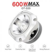 4 дюйма 600 Вт 6OHM GT-S20 Универсальный Автомобильный Алюминий пуля твитер с конденсатор с алюминиевой крышкой для автомобиля Авто Стерео модифицированный