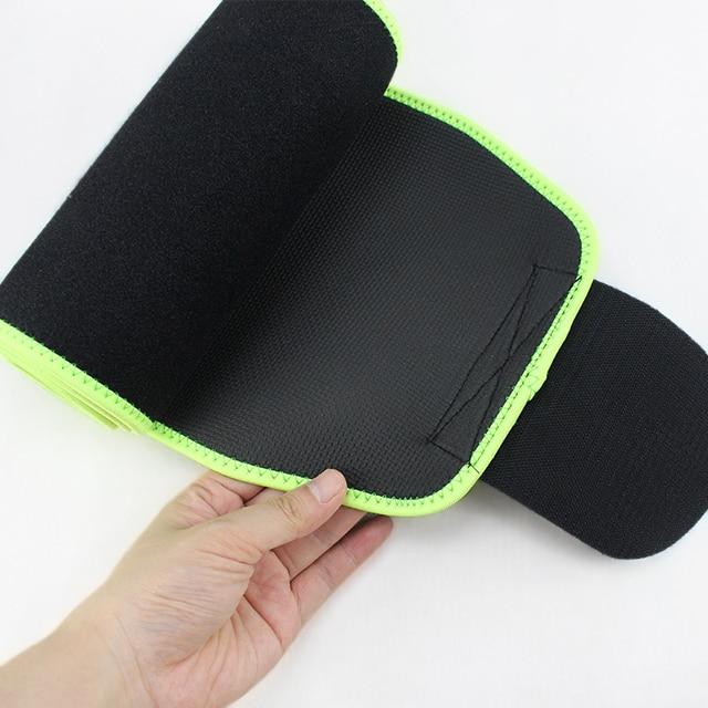 Waist Trimmer Belt Sweat Wrap Slim Body Lumbar Support Belt for Women and Men Weight Loss Abdominal Trainer Slimming Body Shaper 5