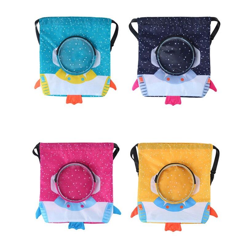 2020 Kids Drawstring Backpack Sports Gym Training Bag For Girls/Boys Children PE Bag Swimming Bag