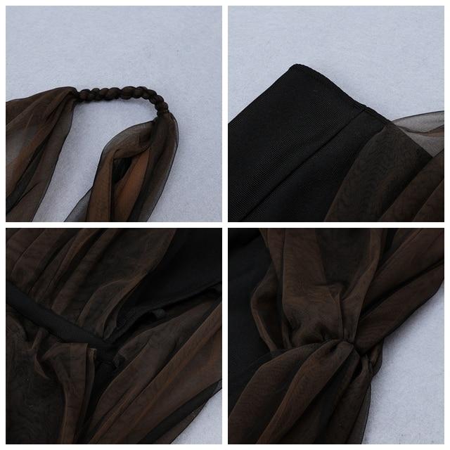 Купить женский облегающий сетчатый комбинезон ciemiili однотонный черный картинки цена
