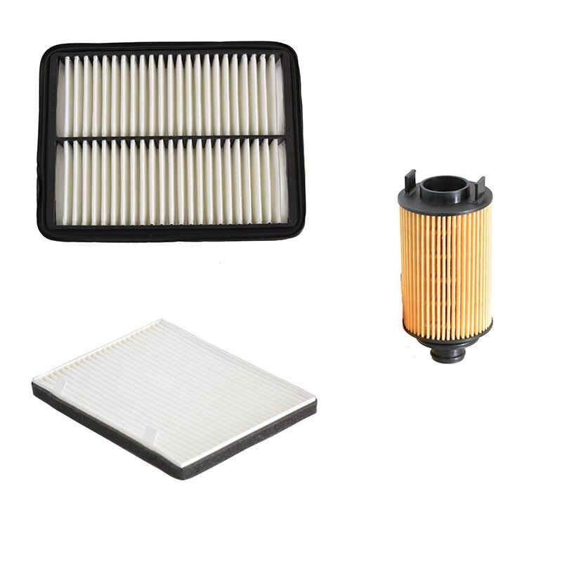 Car Air Filter Cabin Filter Oil Filter for Chery ARRIZO 7 1.5T 1.6L 2013- J42-1109111 J42-8107011 E4G16-1012040