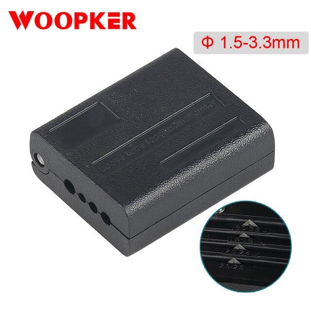 Chaqueta de fibra cortadora funda herramienta óptica de 1,5 3,3mm, pelador de tubos, herramientas de pelado Longitudinal