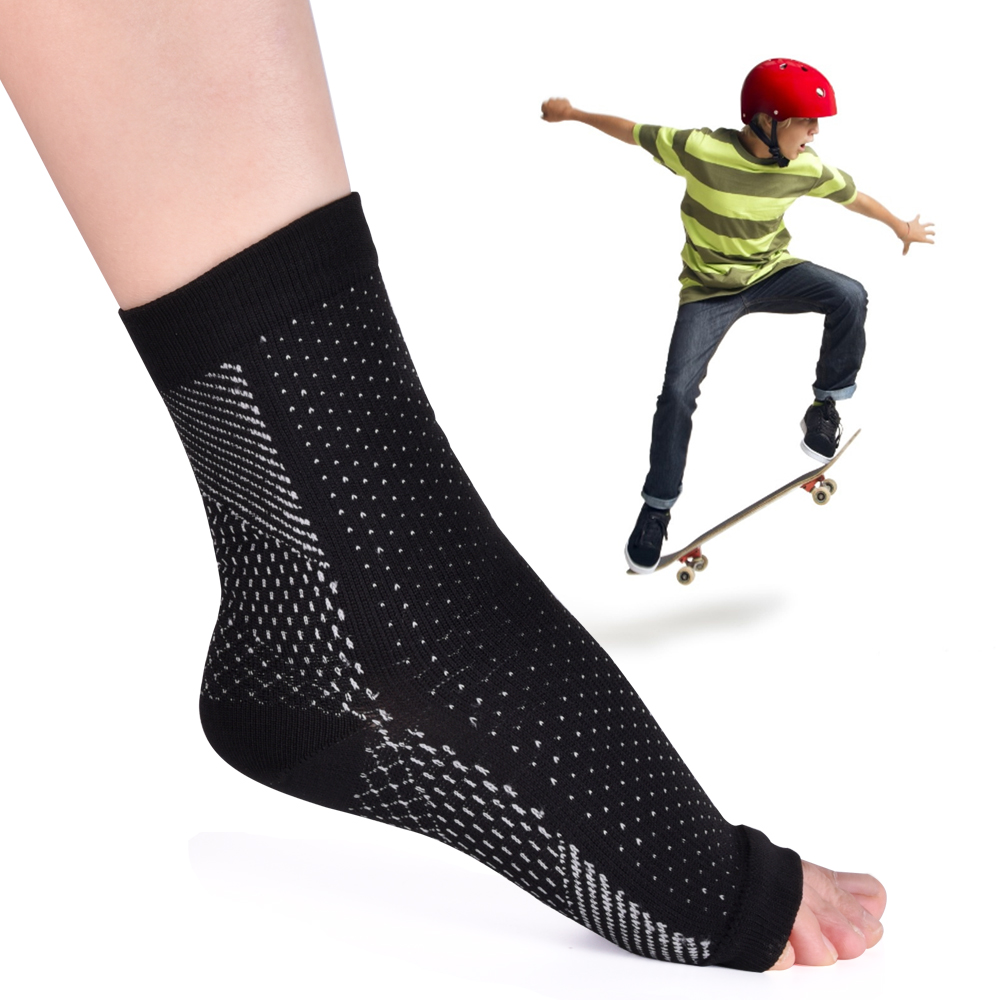 Ankle Heels Support Women Men Compression Foot Angel Sleeve Heel Arch Support Pain Relief Foot HealthCare Socks Hot Dropshipping 1