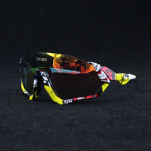 Polarized Cycling Sunglasses Sports Riding Protection Cyclin