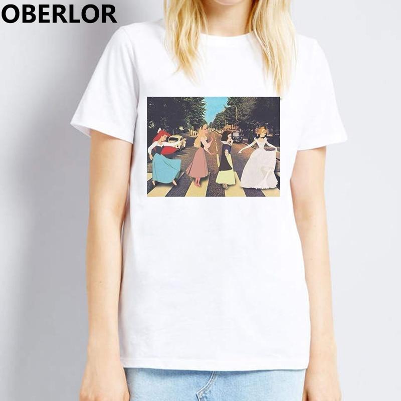 Funny Women Tshirt Friday Princess 90s Baby Fashion Tops Harajuku Female T Shirt Gothic Graphic Tees Kawaii Shein Korean Clothes