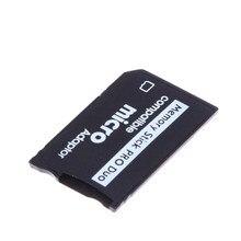 Mini vara de memória pro duo leitor de cartão novo micro sd tf para ms adaptador de cartão para ms pro duo leitor de cartão