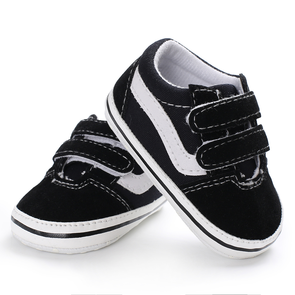 Brand New 2019 Cute Toddler Kids Canvas Sneakers Baby Boy Girl Soft Sole Crib First Walker Shoes Anti-slip Lovely 0-18Months