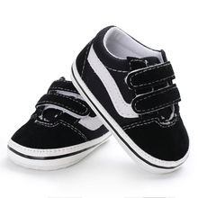 Brand New 2019 Cute Toddler Kids Canvas Sneakers Baby Boy Girl Soft Sole Crib Fi