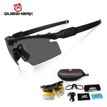 Queshark Army BALLISTIC 3,0 защитные военные очки, очки для пейнтбола, очки для стрельбы, тактические поляризационные солнцезащитные очки, оправа для близорукости