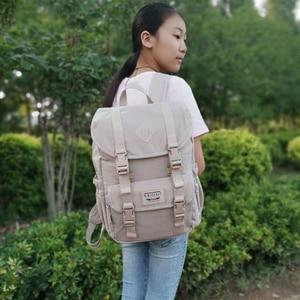 2020 nowe torby gimnazjum dla nastoletnich dziewcząt wodoodporny Nylon zwięzły Campus plecak na laptopa Fashion Travel plecaki na ramię