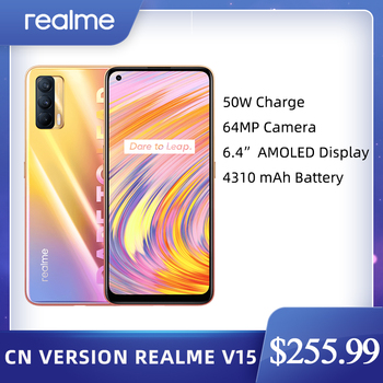 Realme V15 China version 6GB 128GB 5G Mobile Phone 6.4