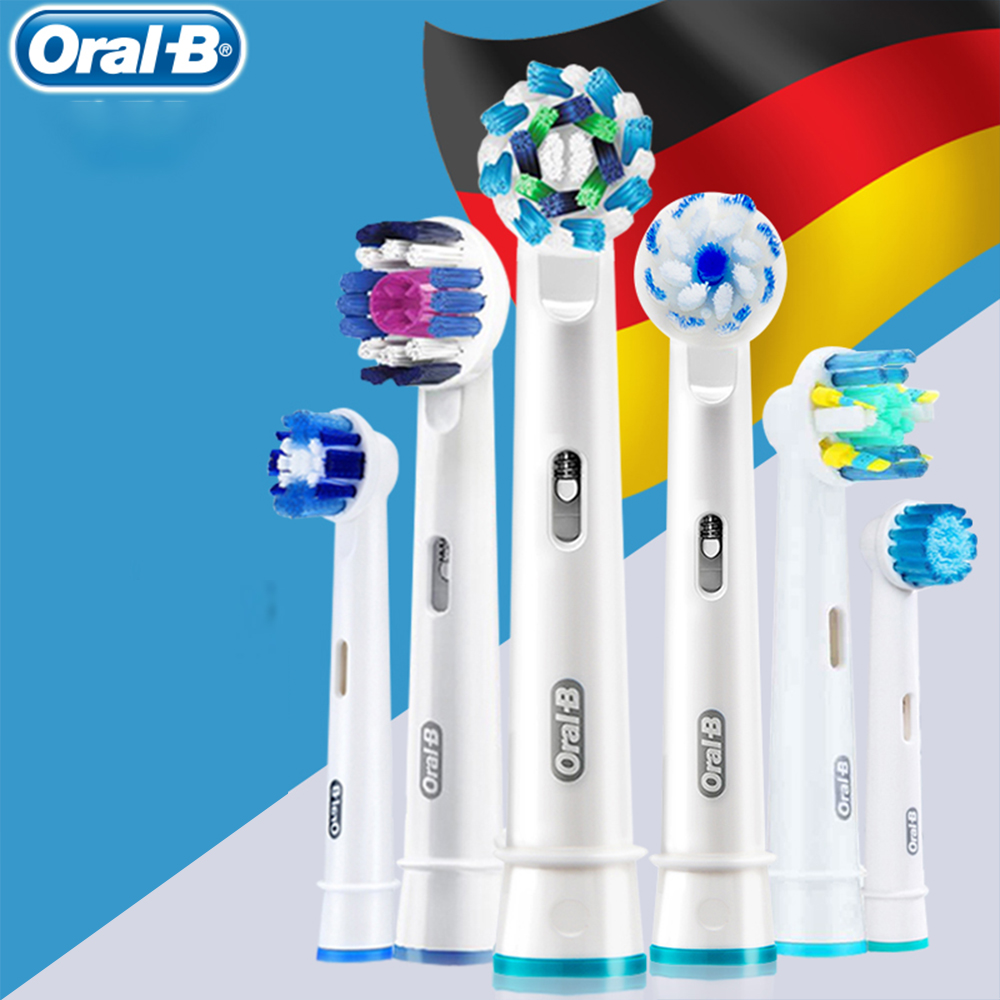 Oral B 3D Toothbrush Replaceable Brush Heads Sensitive Replacement Tooth Head Rotation Type EB30 EBS17 EB25 EB50 EB18 EB20 EB60 image