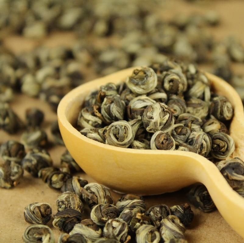 Tea Colitas Flower Tea Superior Jasmine Flower Tea Jasmine Dragon Pearl 150g +gift  Free Shipping