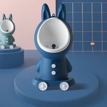 Rabbit Baby Potty Toilet Stand Vertical Urinal Kids Training Boy Pee Bathroom Wall-Mounted Travel Toddler Split Portable