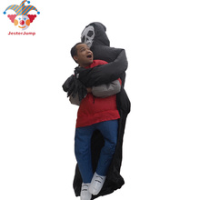 2016 New Free Shipping Inflatable The Skull Man Costume For Adult Halloween Party