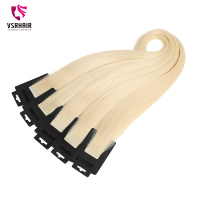 VSR Full Cuticle Thickness Bottom Hair 2.0 g/piece 22 Skin Weft Blonde Color Tape Hair Extensions Luxury Quality Fast Shipping