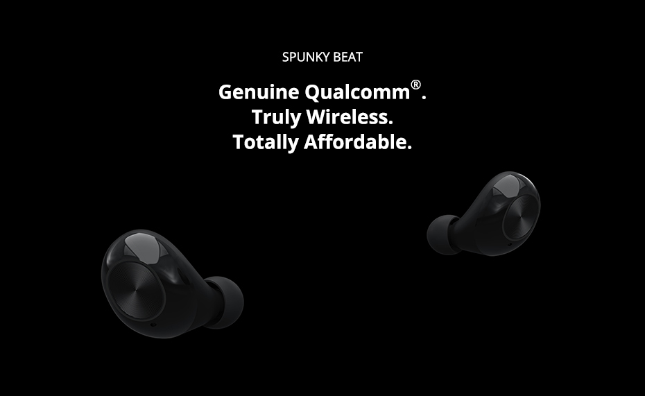 Tronsmart Spunky Beat Bluetooth TWS Earphone APTX Wireless Earbuds with QualcommChip, CVC 8.0, Touch Control, Voice Assistant (1)