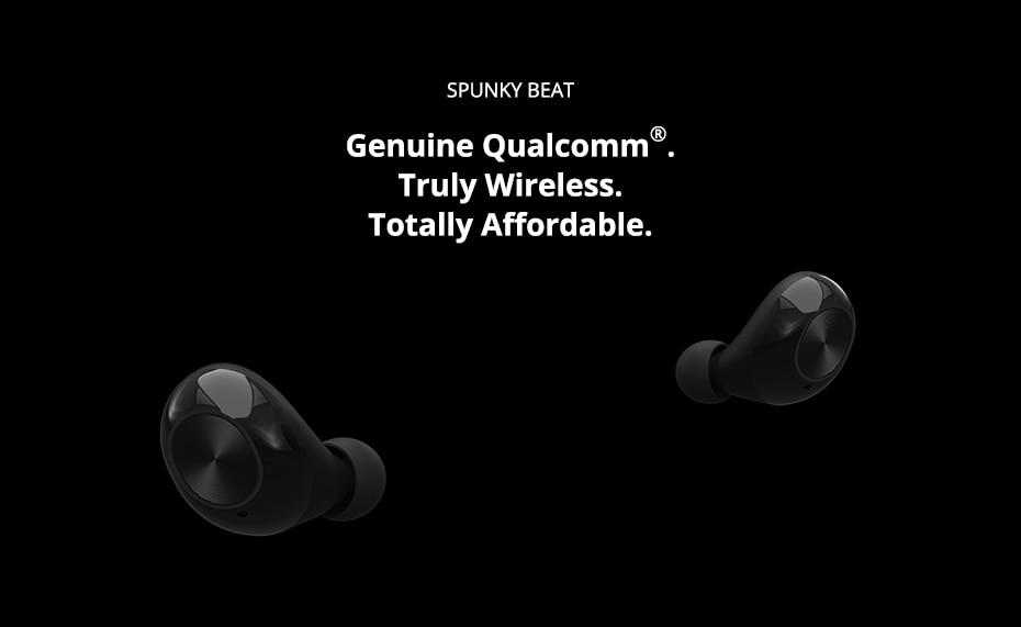 Tronsmart Spunky Beat Bluetooth TWS Earphone APTX Wireless Earbuds with QualcommChip, CVC 8.0, Touch Control, Voice Assistant (1)
