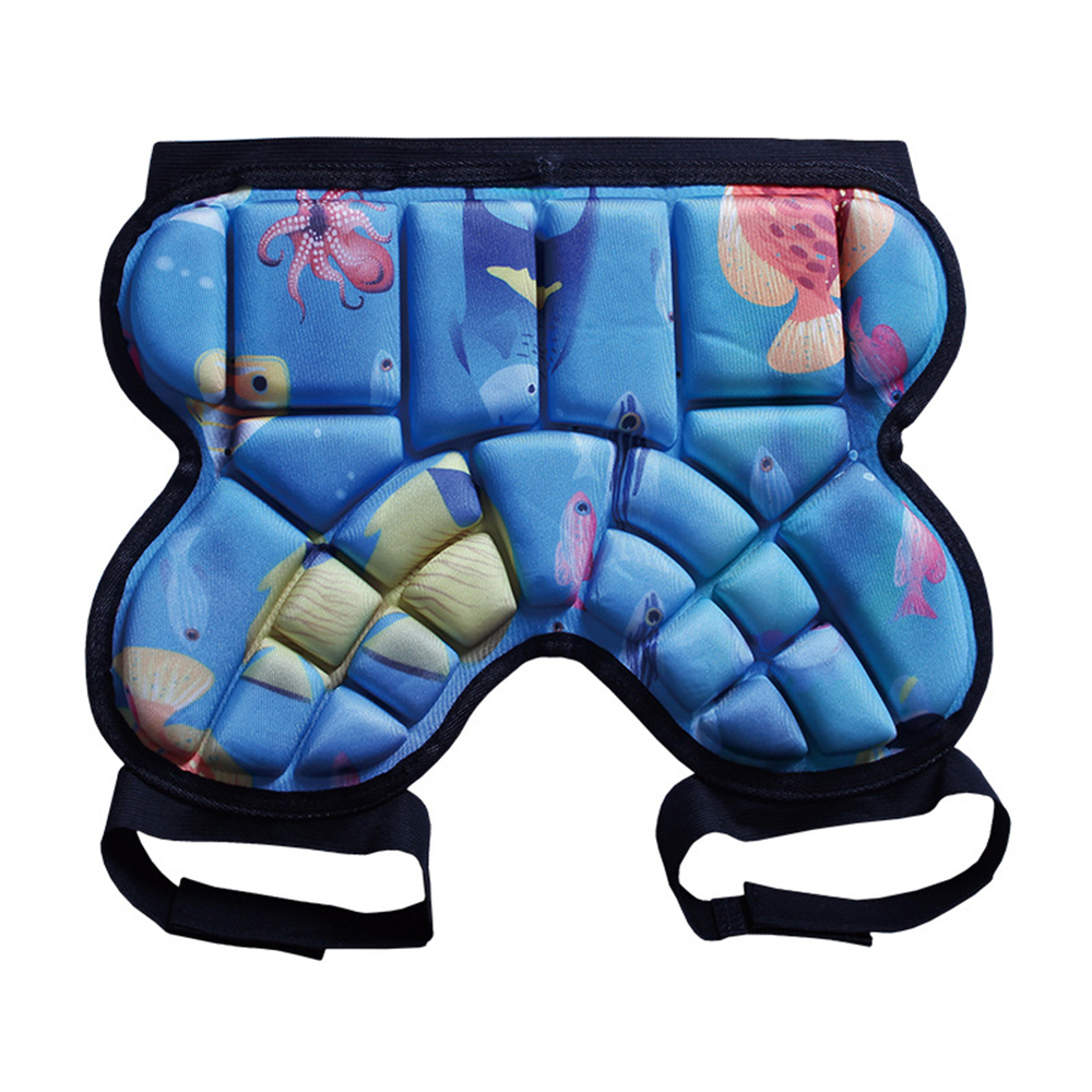 Sports Skiing Snowboarding Shorts Protective Hip Butt Padded Pads For Boys Girls Bicycle Skating Impact Protection