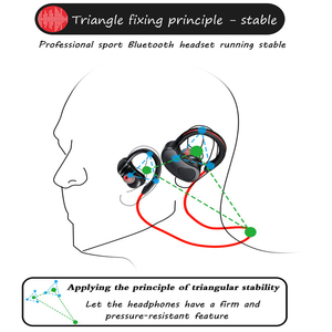 Image 5 - Sports Bluetooth Earphone Wireless Headphones Stereo Headset Earpiece Bluetooth Earbuds HiFI Bass Hands free with mic for ios