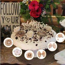 1 Набор сделай сам льняной цветок реалистичный Ручной Работы Красивый Бант Цветок для дома Рождество Свадьба Вечеринка Фестиваль одежды Декор Аксессуары