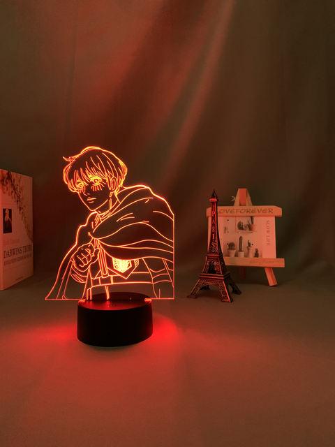 16 COLOR WITH REMOTE ARMIN ARLERT 3D LED LAMP