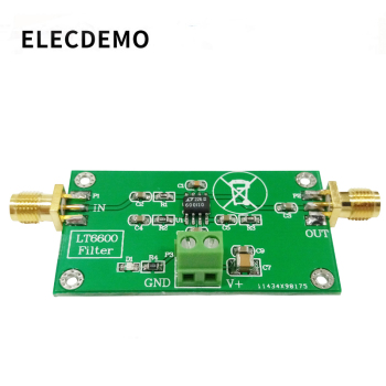 LT6600 Low Pass Filter Module Differential Amplifier Low Noise Low Distortion DAC Filter Processing lt3042 ultra low noise rf rf audio dac adc linear voltage regulator module 15v1a