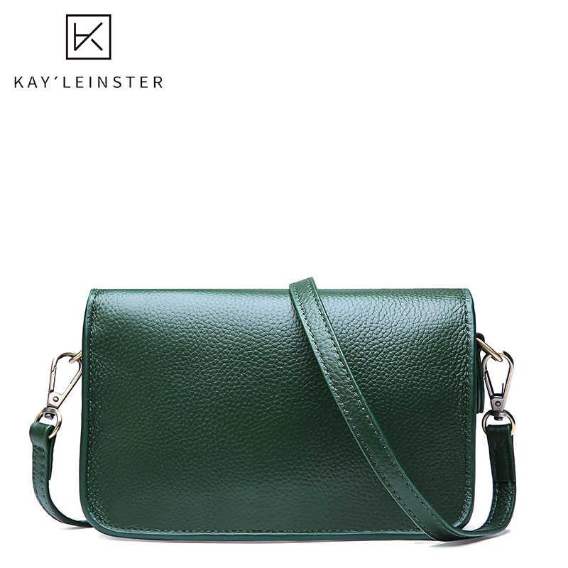 100% echtes Leder Frauen Schulter Tasche Kleine Klappe Soild Farbe Mode Weibliche Umhängetasche Berühmte Marke Damen Täglichen Tasche Sac