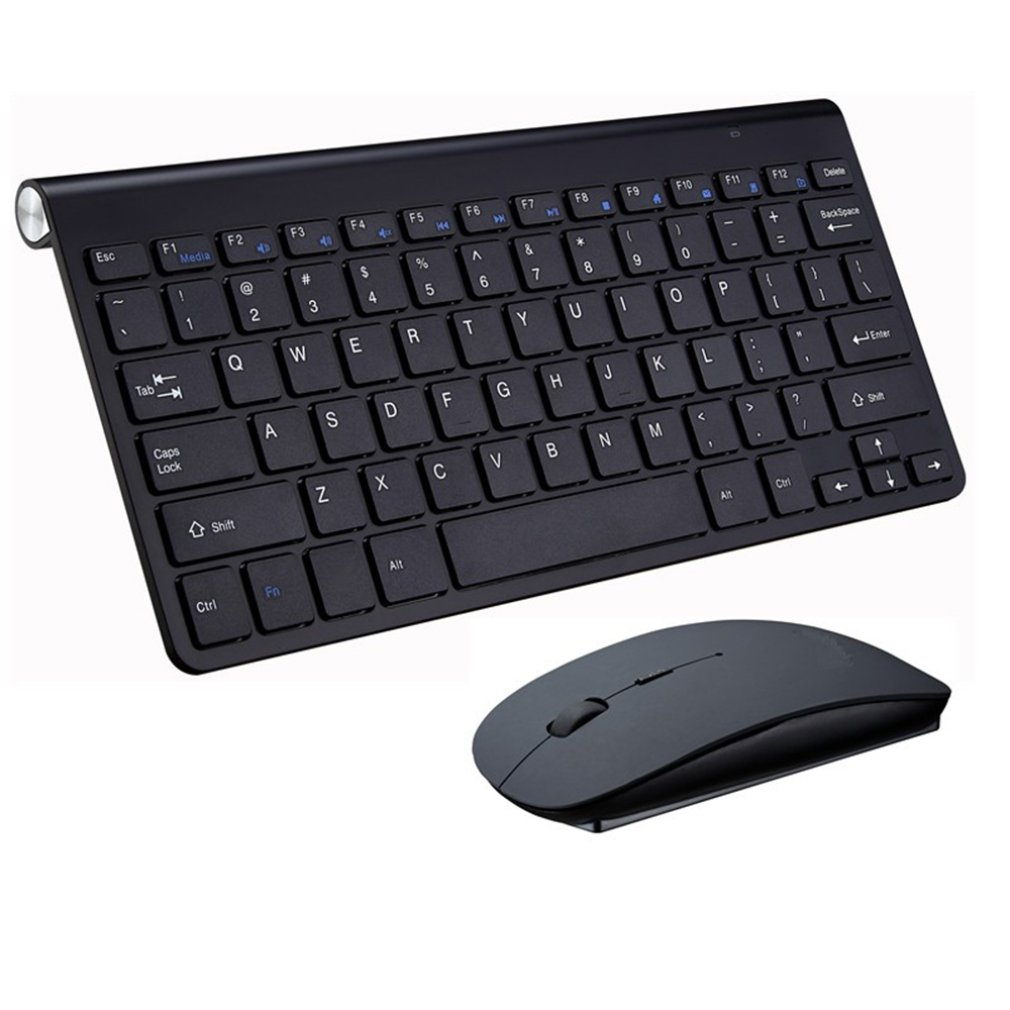 Wireless Keyboard Mouse  Keyboard Set 2.4G Mini Keyboard Mouse And Keyboard Set Computer Accessories Set