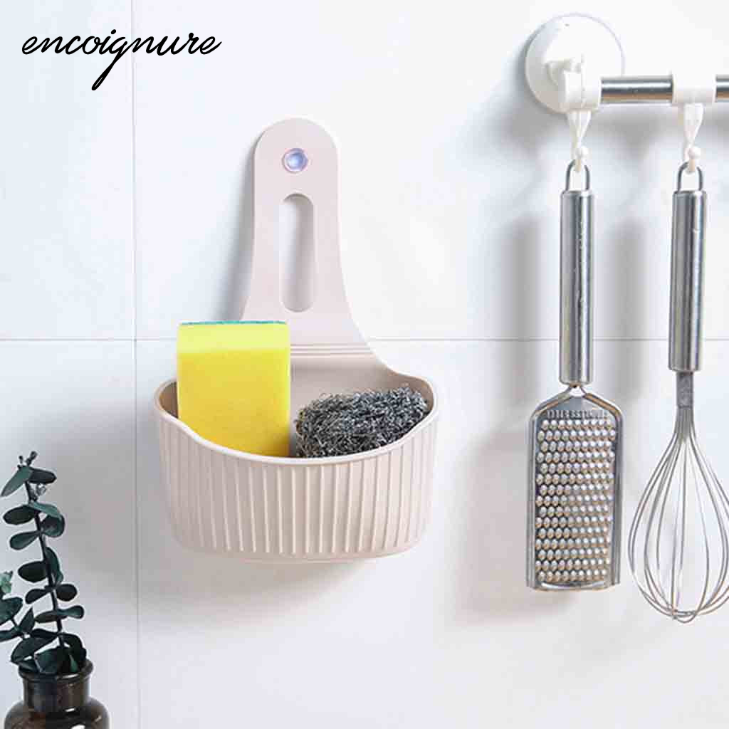 מטבח כיור אחסון מתלה שימושי יניקה כוס כיור מדף סבון ספוג מגש ניקוז פרייר אחסון כלי органайзер для кухни