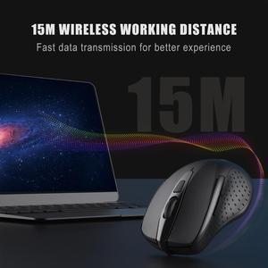 Image 3 - TeckNet Pro 2.4GHz 무선 마우스 나노 수신기 인체 공학적 마우스 6 버튼 2600 인치 당 점 컴퓨터 랩톱 데스크탑 용 5 조정 레벨