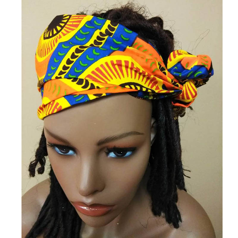 11x45 Inch Mini African Head Wrap African Print Head Scarf African Headwraps Kids And Adults African Headscarf 28x114cm