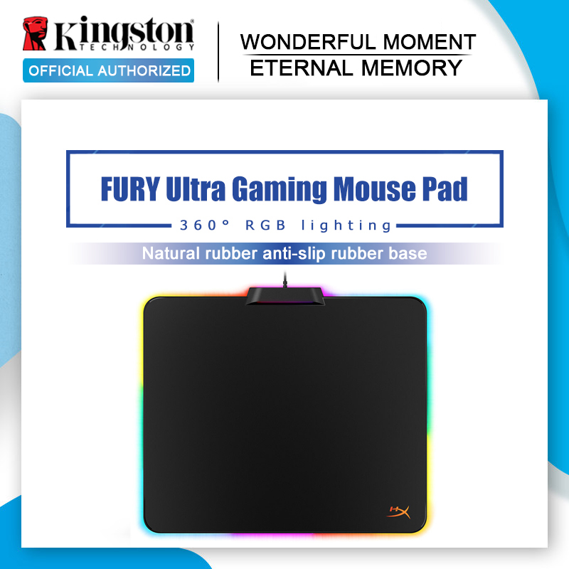 Kingston NEW HyperX FURY Ultra RGB Gaming Mouse Pad for...