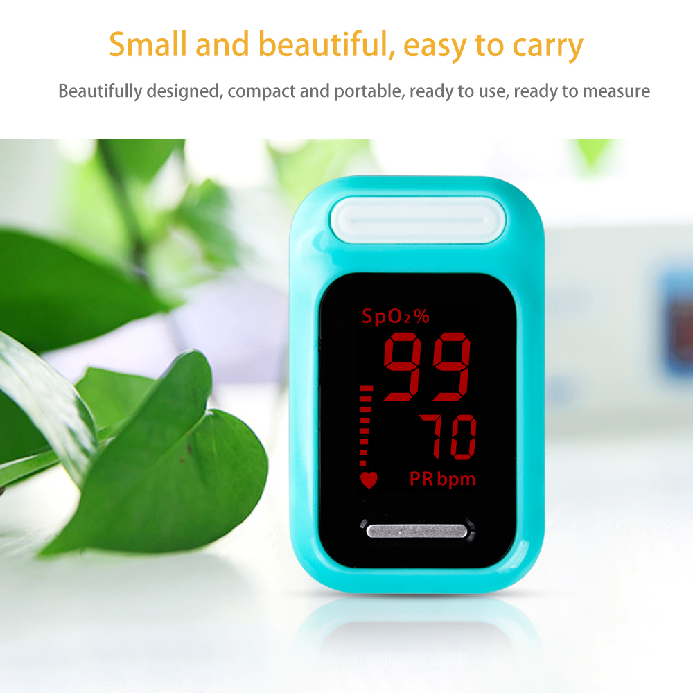 ELERA Finger Pulse Oximeter with OLED Display to calculate Blood Oxygen Saturation 20