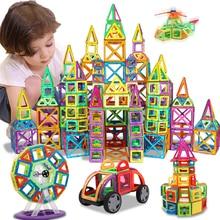 KACUU магнитные конструкторы и строительные игрушки 157 шт. большой размер магнитные Блоки Магниты строительные блоки игрушки для детей