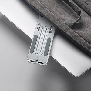 Image 5 - Laptop Stand Foldable Suporte Notebook Holder for Huawei matebook for Xiaomi airbook For Macbook Pro Air 13 15 16 17 14inch